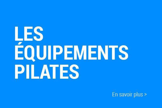 Pilates sur appareils. Différents équipement utilisés dans nos cours.