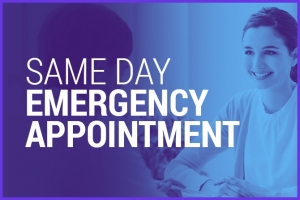 Osteopathy same day emergency appointment