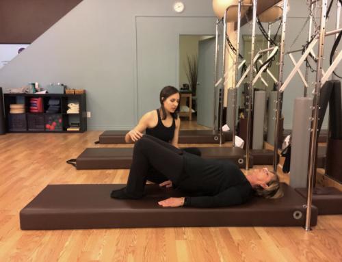 Pilates pour l'ostéoporose