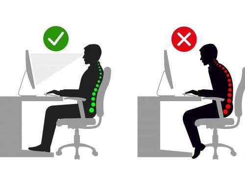 Posture au travail et ostéopathie